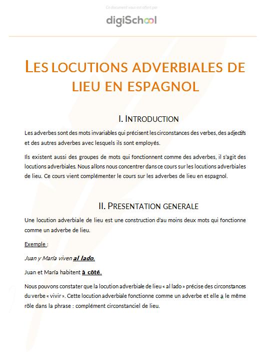 Espagnol Lve Bac Pro Cours Et Annales Corrigees