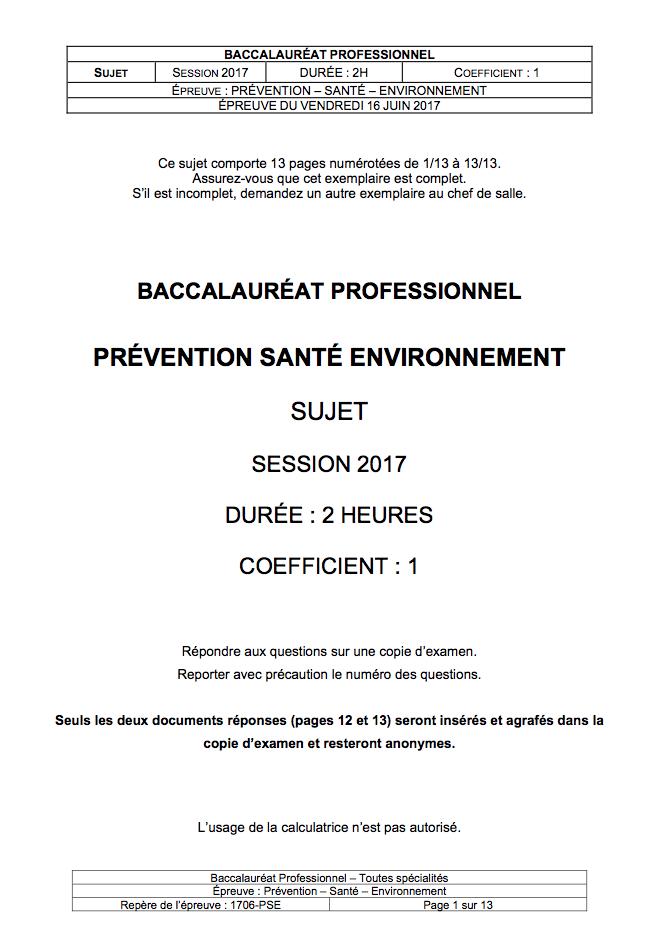 Exemple de dossier pse bac pro restauration - Sujet bac pro cuisine ...